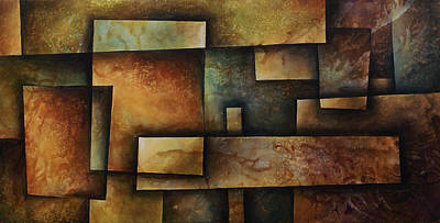 Abstract Design 9 Poster by Michael Lang