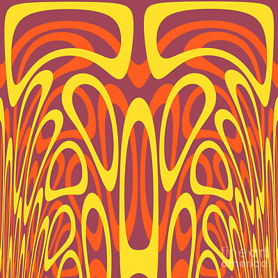 Abstract Geometric Shapes Poster by Gaspar Avila