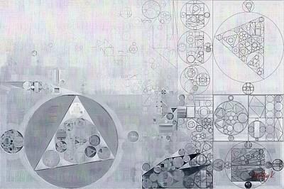 Abstract Painting - Hit Grey Poster by Vitaliy Gladkiy