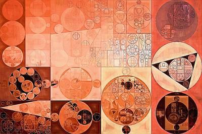 Abstract Painting - Mandys Pink Poster by Vitaliy Gladkiy
