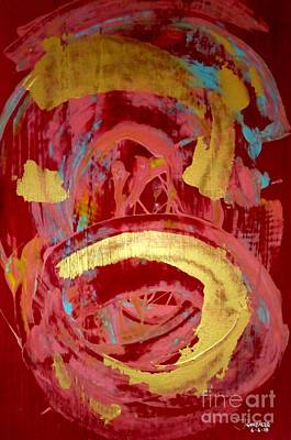 Abstract Pottery Poster by Jay Anthony Gonzales