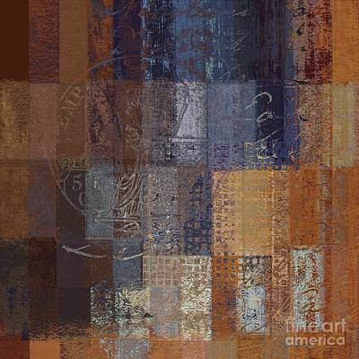 Abstractionnel - Vc2j-043121140b Poster by Variance Collections