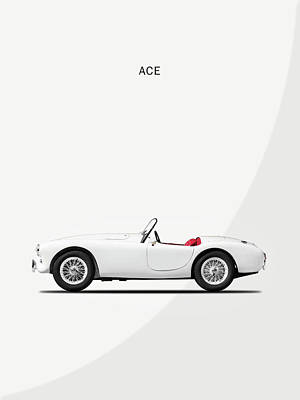 Ac Ace Poster by Mark Rogan