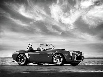 Ac Shelby Cobra Poster by Mark Rogan