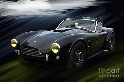 Ac Shelby Cobra Poster by Reinhold Fine Art