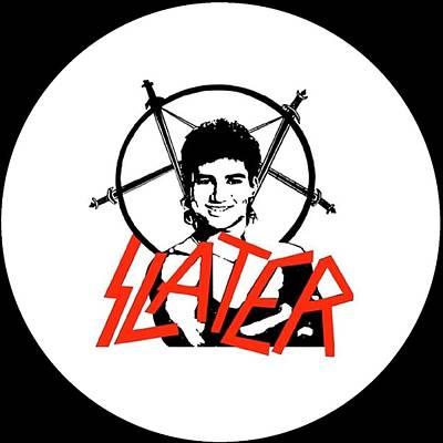 Ac Slayer Poster by Laura M Corbin