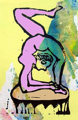 Acrobat 3 Poster by Adam Kissel