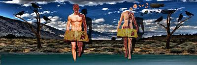 Adam And Eve Poster by Solomon Barroa