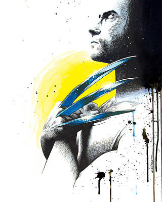 Adamantium Poster by Amber Bambler Keller