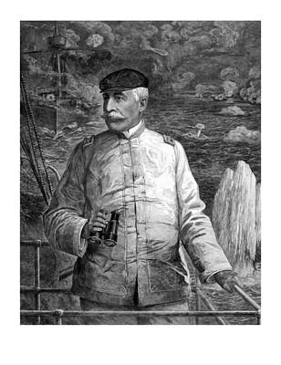 Admiral Dewey At Sea Poster by War Is Hell Store