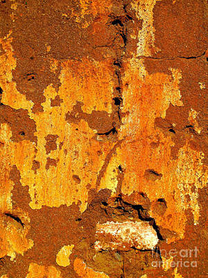 Adobe Wall 1 By Darian Day Poster by Mexicolors Art Photography