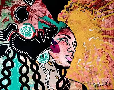 African Gypsy Poster by Amy Sorrell