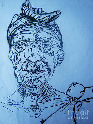 Aging Study 2 Poster by Simon Wairiuko