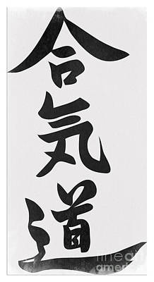 Aikido Poster by Stefano Senise