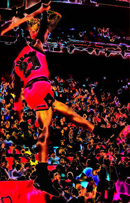 Air Jordan 04 Poster by Brian Reaves
