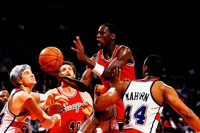 Air Jordan 1984 Rookie Year Poster by Brian Reaves