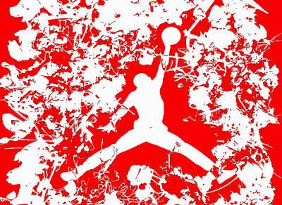 Air Jordan 1f Poster by Brian Reaves