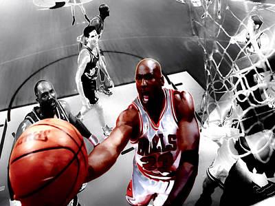 Air Jordan 5g Poster by Brian Reaves