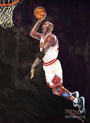 Air Jordan Poster by Dave Olsen