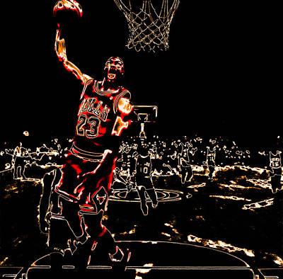 Air Jordan Thermal Poster by Brian Reaves