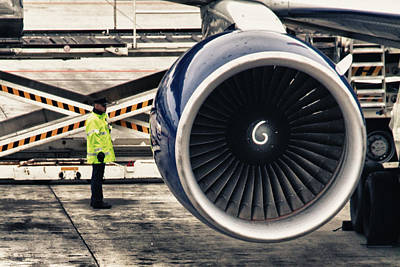 Airbus Engine Poster by Stelio Photography