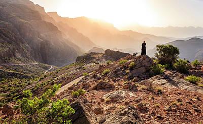 Al Hajar Mountains Poster by Alexey Stiop