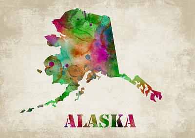 Alaska Poster by Mihaela Pater