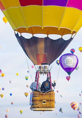 Albuquerque Balloon Fiesta Poster by Kobby Dagan