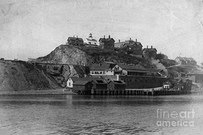 Alcatraz Island Poster by Frederick Holiday