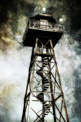 Alcatraz Island Guard Watchtower  Poster by Jennifer Rondinelli Reilly - Fine Art Photography