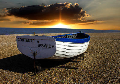 Aldeburgh Beach Poster by Martin Newman