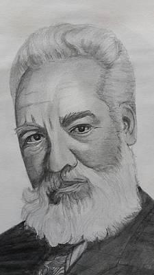 Alexander Graham Bell Poster by Premnath Mohan
