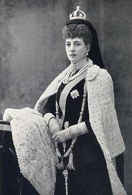 Alexandra Of Denmark, 1844 To 1925 Poster by Vintage Design Pics