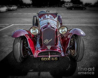 Alfa Romeo Poster by Adrian Evans