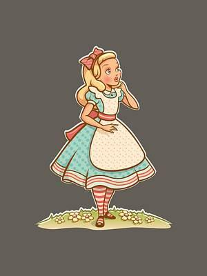 Alice Poster by Elizabeth Taylor