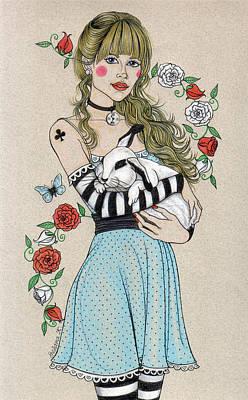Alice Poster by Snezana Kragulj
