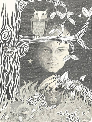 Alice Syndrome Poster by Melinda Dare Benfield