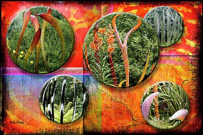 Alien Garden Poster by Mike Braun