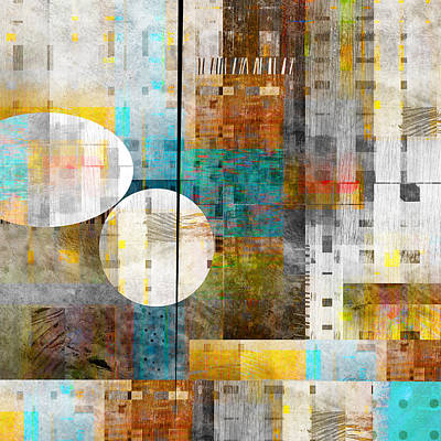 Alignment - Abstract Art Poster by Ann Powell