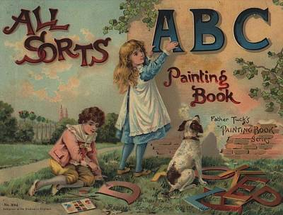 All Sorts Abc Painting Book Poster by Reynold Jay