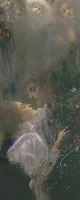 Allegory Of Love Poster by Gustav Klimt