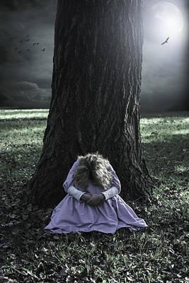 Alone At Night Poster by Joana Kruse