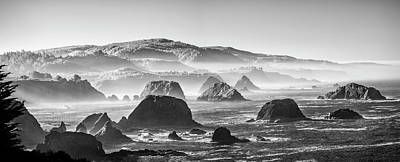Along The California Coast Poster by Jon Glaser