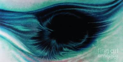 Alpha Eye Poster by Al Sabid Torres