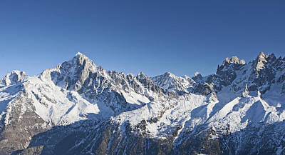 Alpine Panorama Poster by Pat Speirs