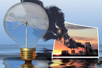 Alternative Energy Poster by Shane Bechler