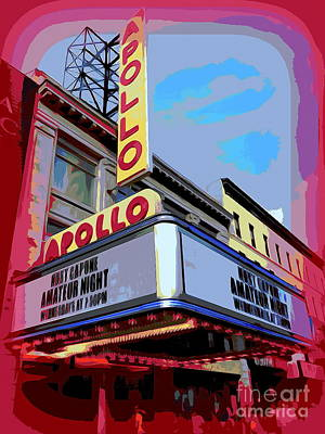 Amateur Night At The Apollo Poster by Ed Weidman