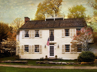 American Colonial Poster by Jessica Jenney
