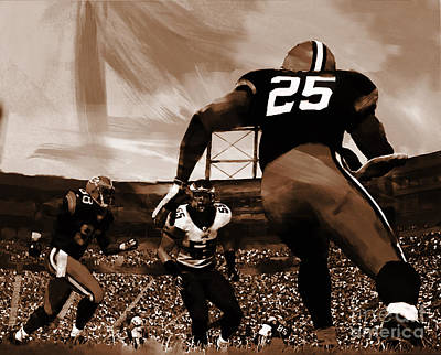 American Football 01 Poster by Gull G