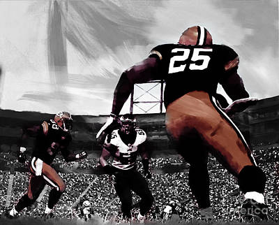 American Football  Poster by Gull G